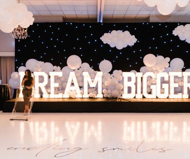 Dream Bigger Gala at Le Treport