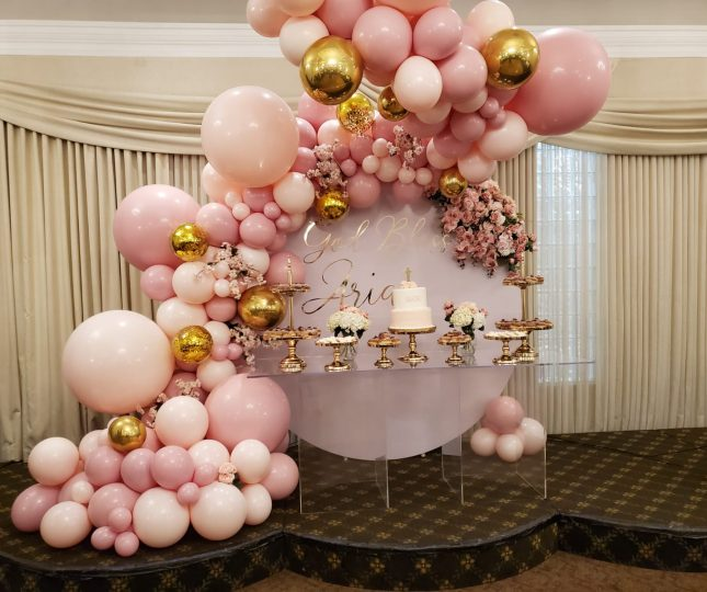 Dessert Table Baby Shower at Le Treport