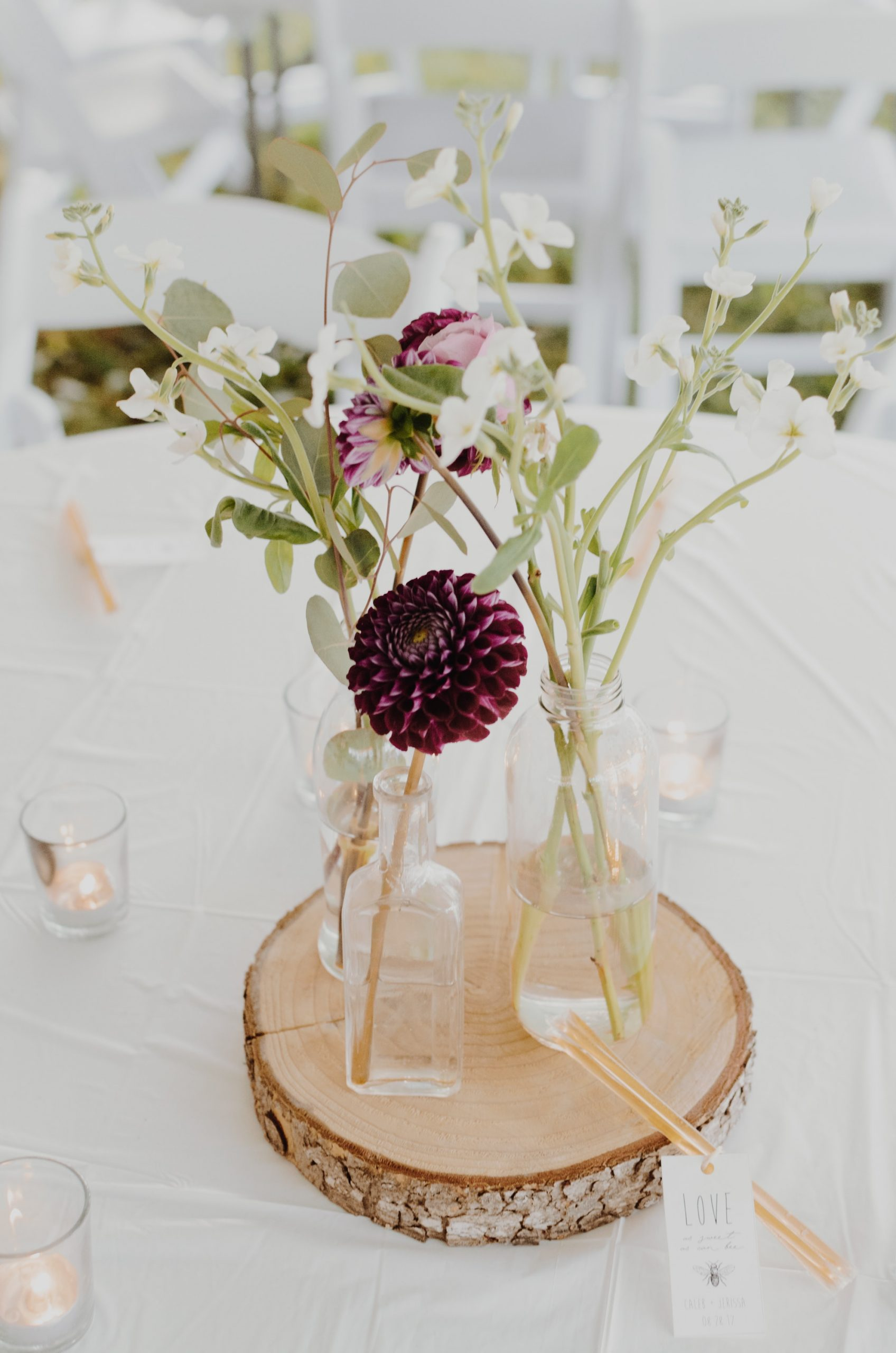 Whimiscal centerpieces