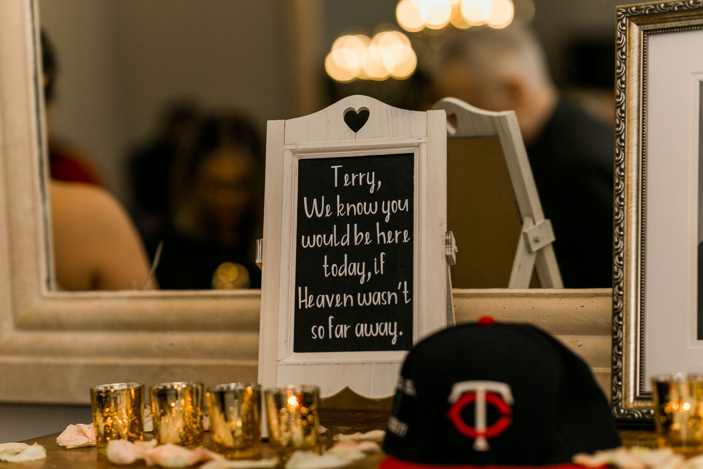 Memorial Table at Wedding