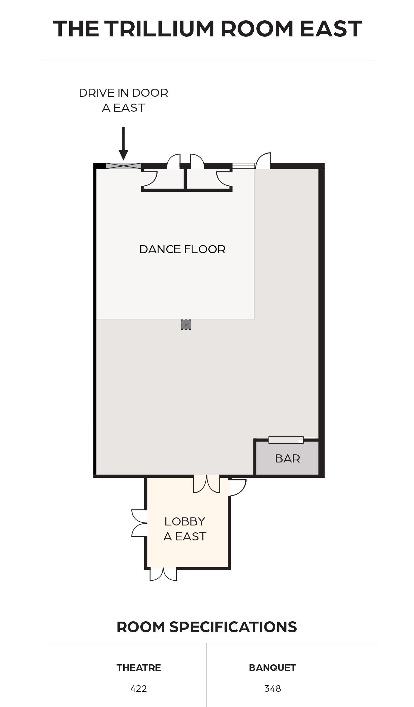 The Trillium East Floorplan
